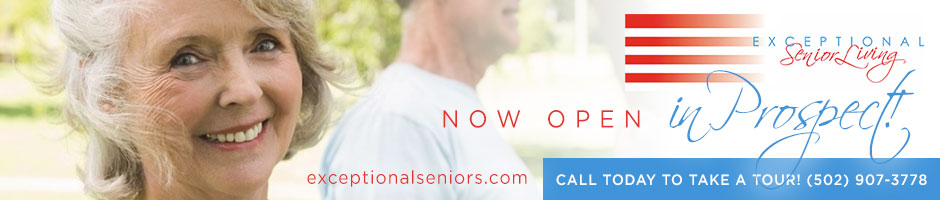 Exceptional Senior Living NOW OPEN in Prospect! Click to learn more.