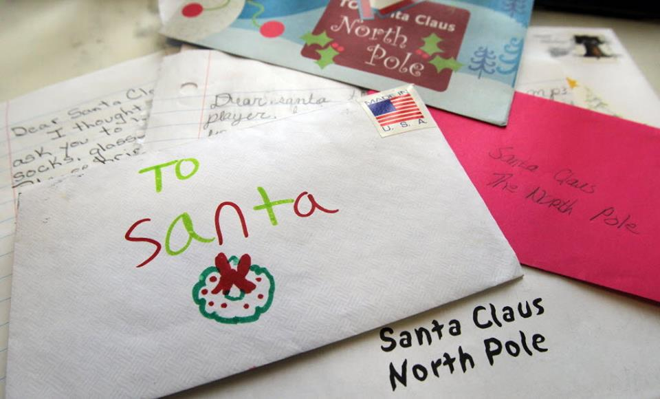 Live in Oldham Collects Letters to Santa